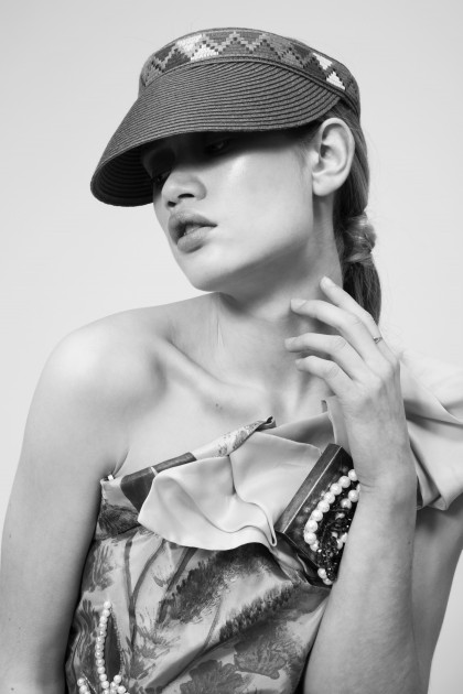 Photo: Margaux Rodrigues, Stylisme: Mario Lollia, Makeup and hair by me Mannequin: Elea (VIP Model)