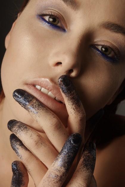 Close-up beauty  Mannequin: Tara Lievens