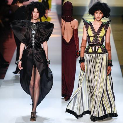 Jean Paul Gaultier SS 2019 Haute Couture Show / Key Makeup Artist Stéphane Marais