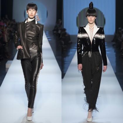 Jean Paul Gaultier SS 2018 Haute Couture Show / Key Makeup Artist Stéphane Marais