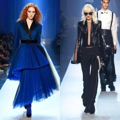 Jean Paul Gaultier AW 2018 Haute Couture Show / Key Makeup Artist Stéphane Marais